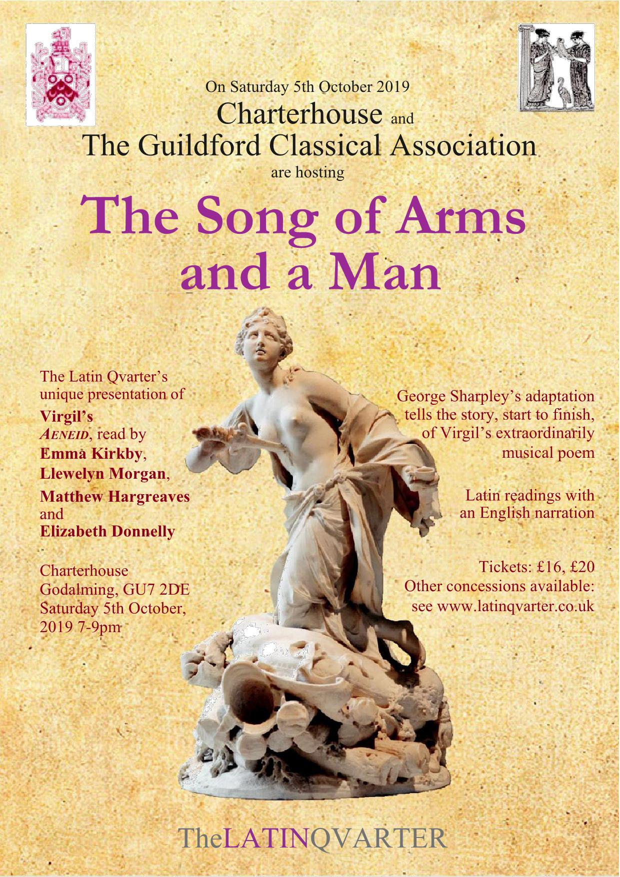 Leaflet - Song of Arms and a Man - Guildford - draft 5